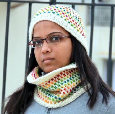 Punto Hat and Cowl